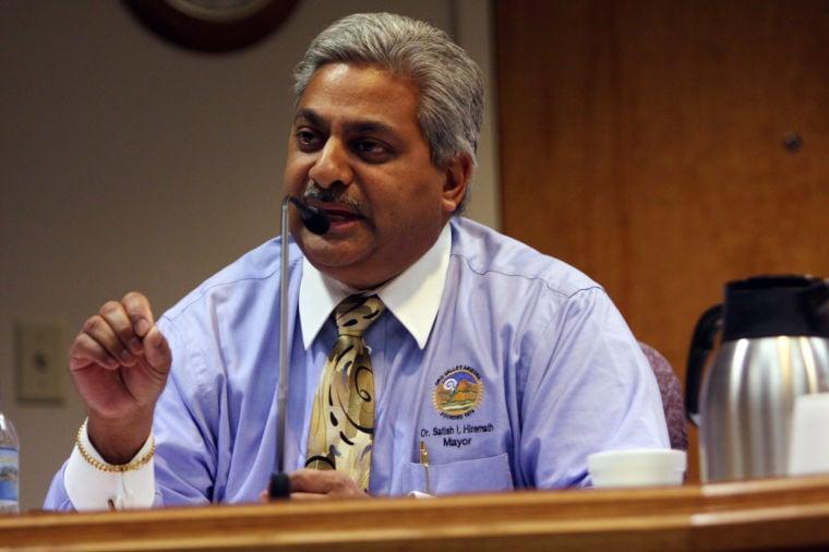 Oro Valley Mayor Satish Hiremath