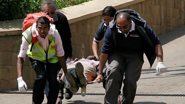 Kenya mall gunshots