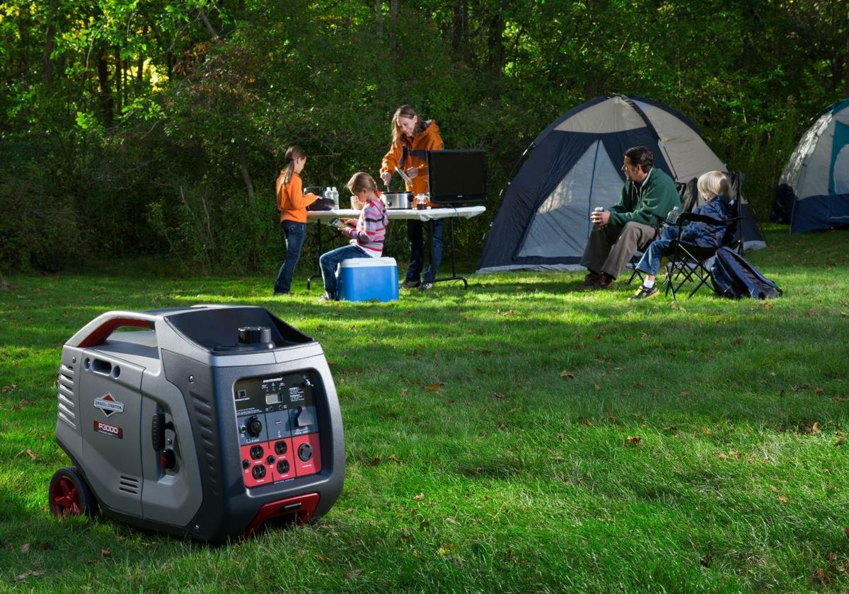 camping and tailgating