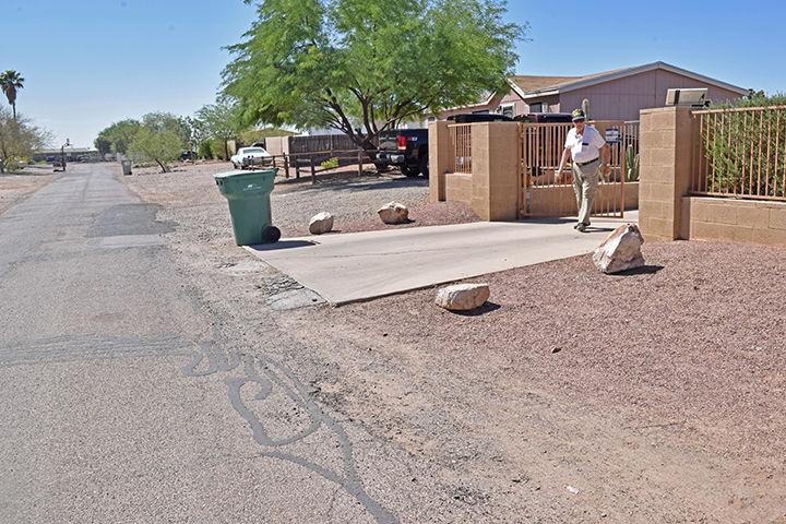 Wally's driveway