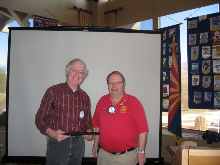 David Devine and Dick Kroese