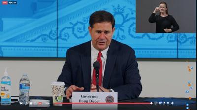 Gov. Doug Ducey Press Conference June 17, 2020