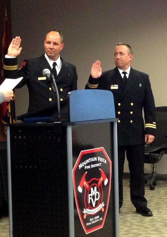 Mountain Vista Fire District hires two new battalion chiefs