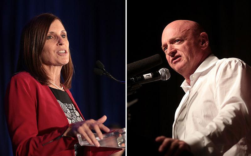 McSally, Kelly raise $13.9 million for anticipated 2020 Senate race