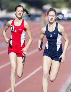 Lisanne Hagens UA track and field