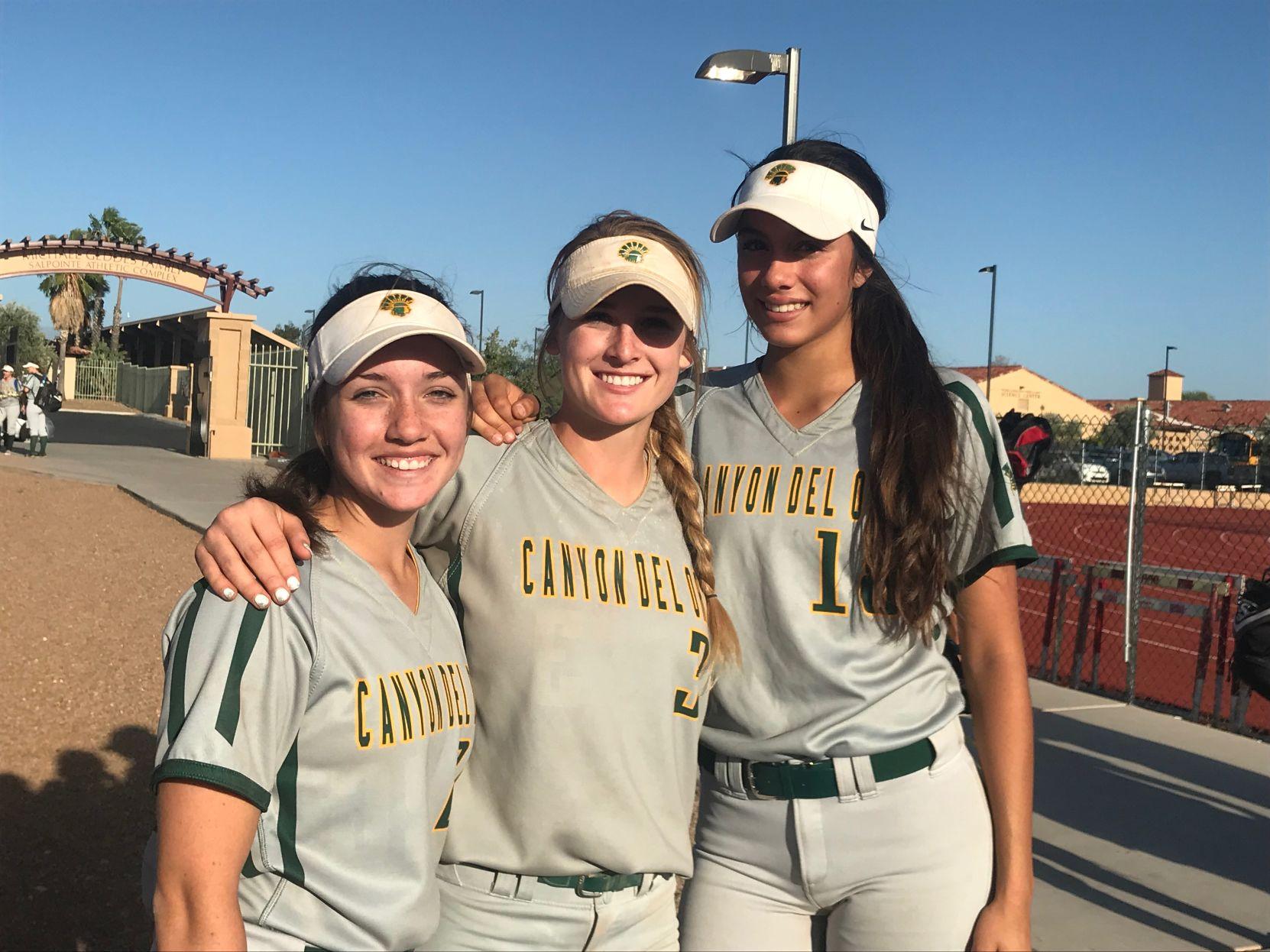 Hope Banales and Ellessa Bonstrom power CDO softball past Salpointe | Tucson Local Media