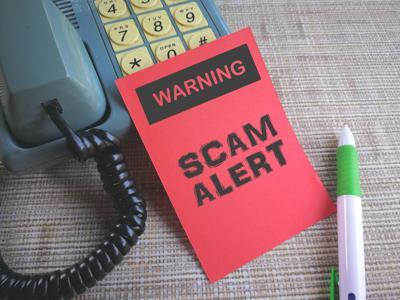 Phone call scam alert