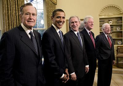 Obama and Five Presidents