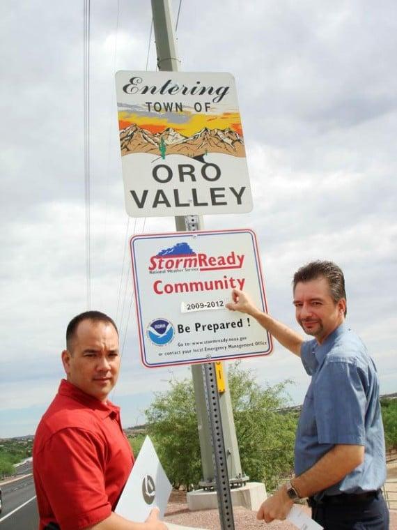 OV certified as 'StormReady' through 2012