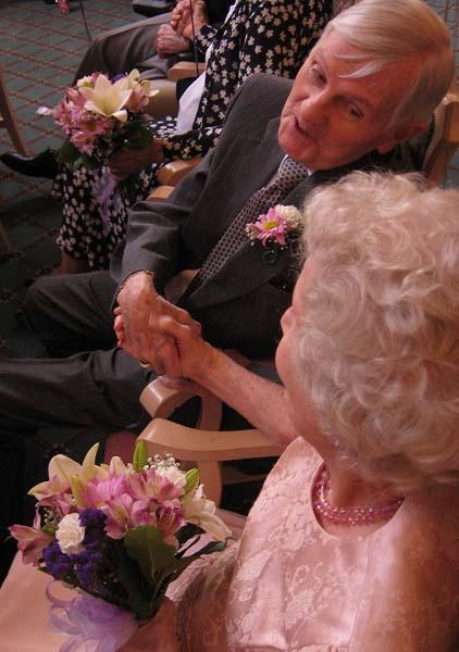 Couples say 'I do' after decades