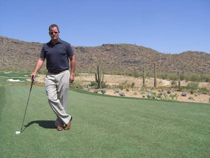 Success follows new Ritz-Carlton golf pro