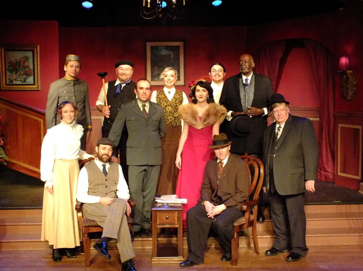 Sherlock Holmes and the East Wind cast
