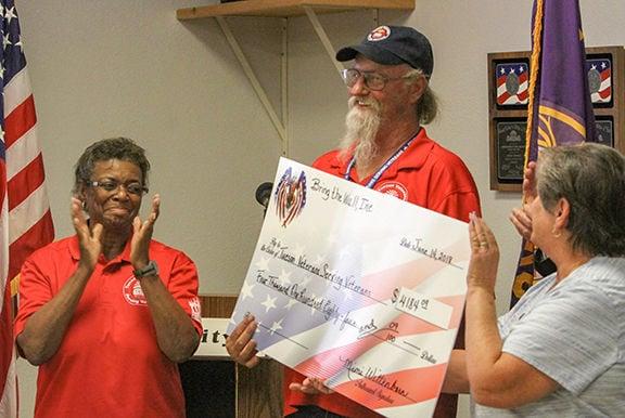 Bring the Wall, Inc. donates $8,000 to veteran causes | Tucson Local Media