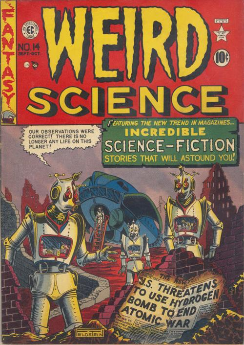 Classic Comic Cover Corner – Weird Science #14