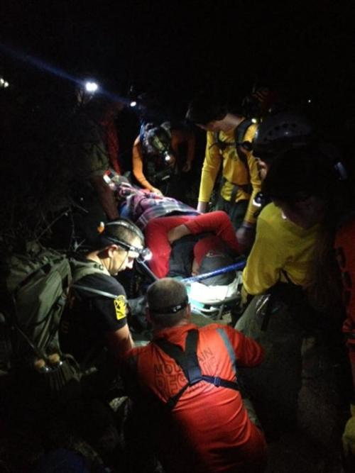 Finger Rock Trail rescue