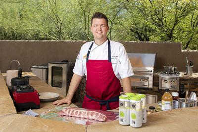 Chef Ryan Clark preparing tailgate food.jpg