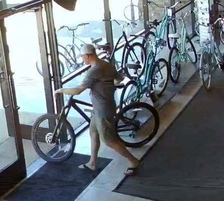 North side bicycle thief - Nov. 29, 2017
