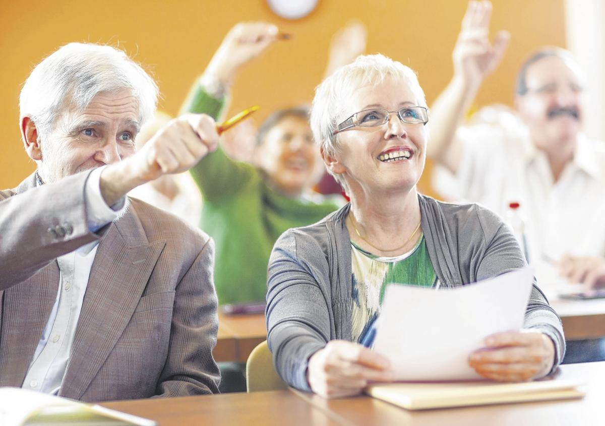 A lesson in do it yourself lifelong learning aging well challenging yourself to learn something newparticularly in a social situation like a classroomcan benefit your brain health including memory and solutioingenieria Image collections