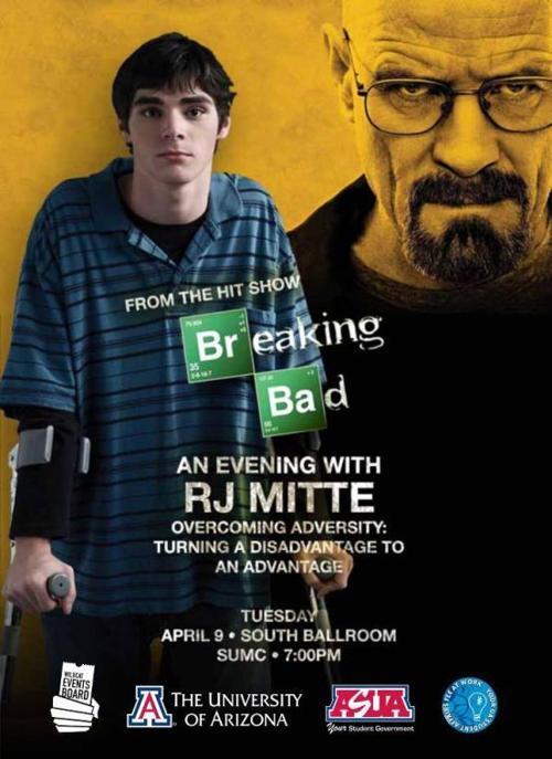 Breaking Bad's RJ Mitte