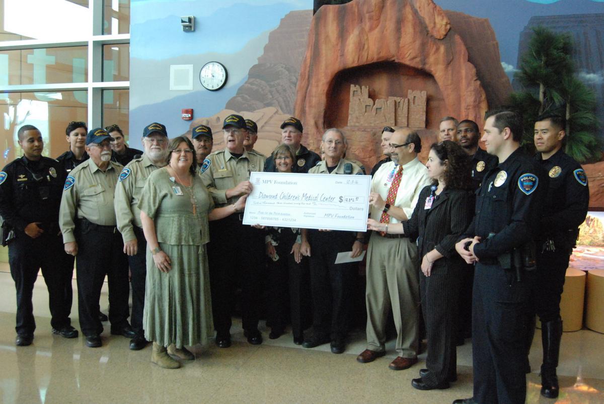 Marana Police Donation