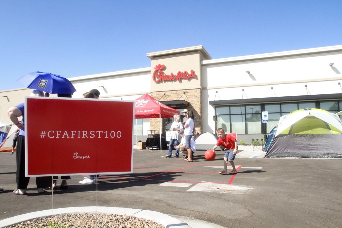 Ina Road Chick-fil-A opening sign