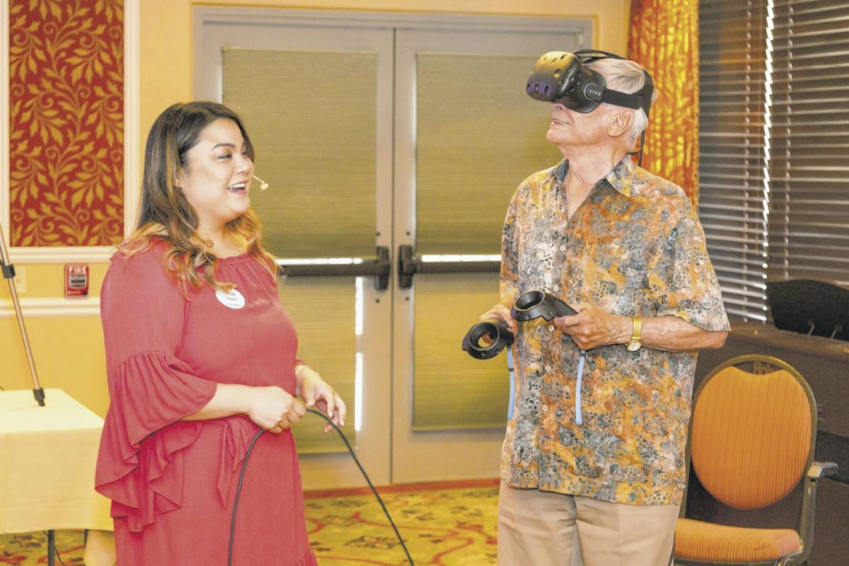 VR at Splendido