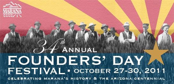 Marana Founders Day Logo