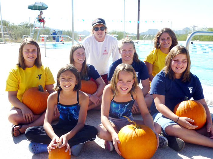 YMCA pumpkins