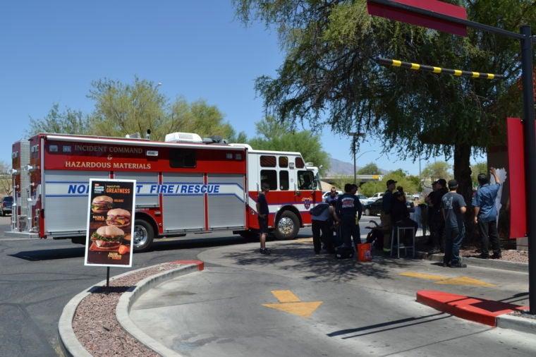 McDonalds emergency scene