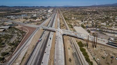 Ina Road Drone Photo