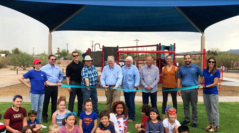 Honea Heights Park Ribbon Cutting Ceremony photo gallery