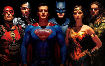 Justice League Poster FINALLY Adds Superman