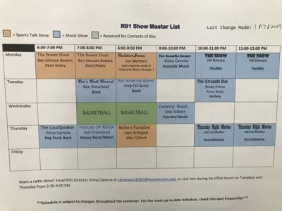 R91 Schedule