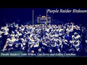 Purple Raider Sitdown: Gabe Brown, Lou Berry and Kollyn Crenshaw
