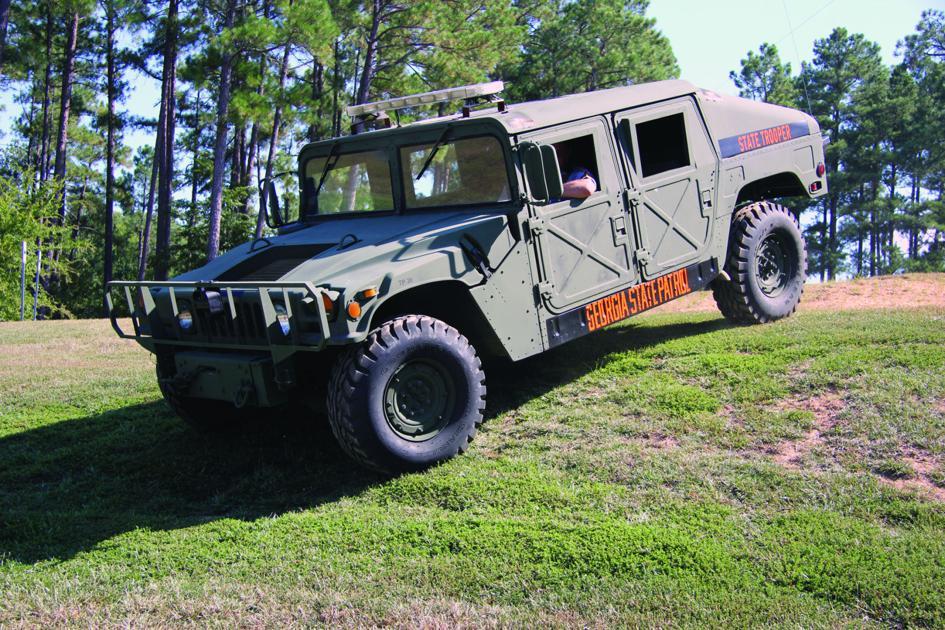 Gsp Gains Surplus Humvee News Unionrecorder Com