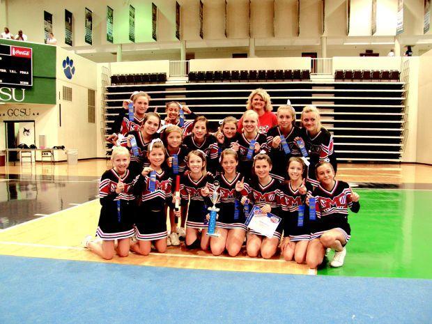 Gmc Prep Varsity And Middle School Cheerleading Squads