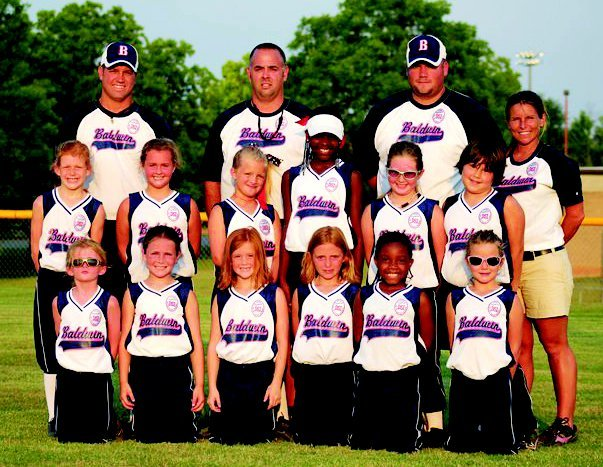 8-and-under All-Stars finish fourth in Dalton, their highest placement in age-group history