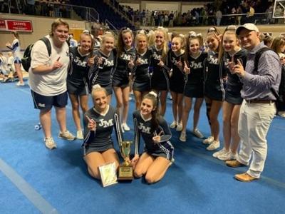 jma cheerleading state champs