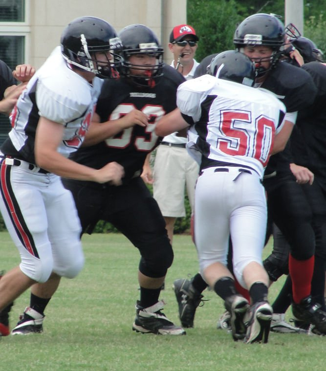 GMC Prep football team gets attention at Bowden camp at University of N. Ala.