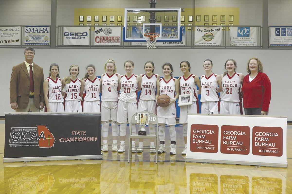 Play for Peck': Lady Rebels are GICAA state champs   Sports
