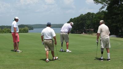 Amputee Golf Tournament begins