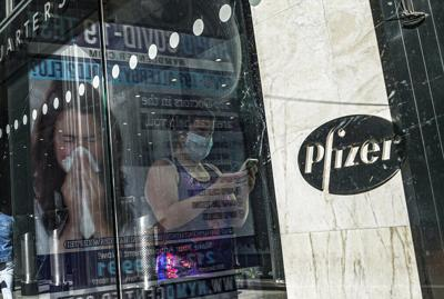 Virus Outbreak Pfizer