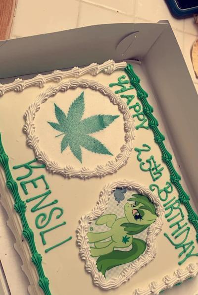 'Moana' cake