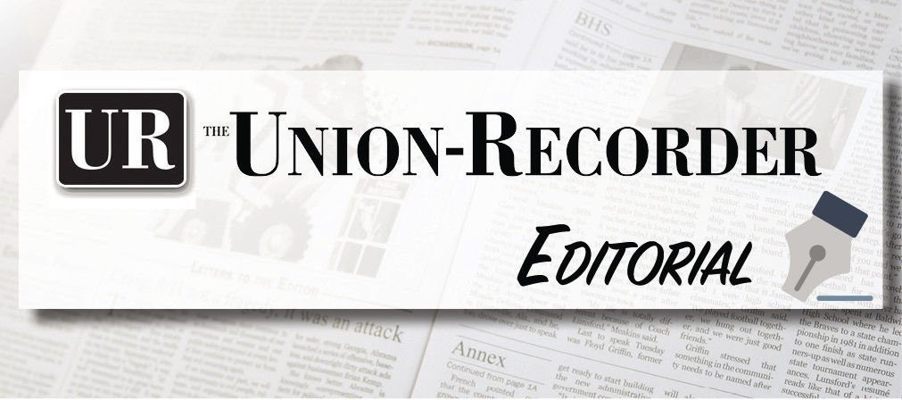 editorial let your voice be heard on our editorial page opinion unionrecordercom