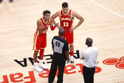 Pistons Hawks Basketball