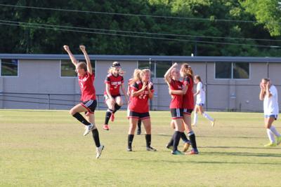 gmc prep girls soccer vs trion