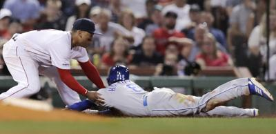 Royals Red Sox Baseball