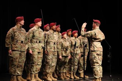 82ND Airborne Division's All-American Chorus to visit GMC