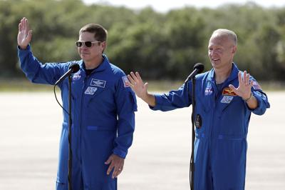 Home Launch Astronauts Arrive