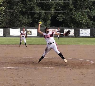 gmc prep softball vs monticello